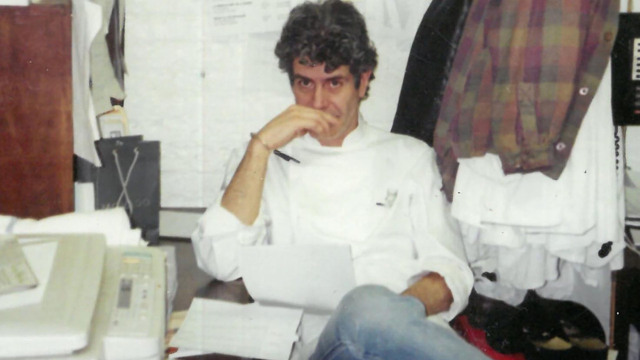 New biography explores the journey and legacy of chef, writer and TV host Anthony Bourdain