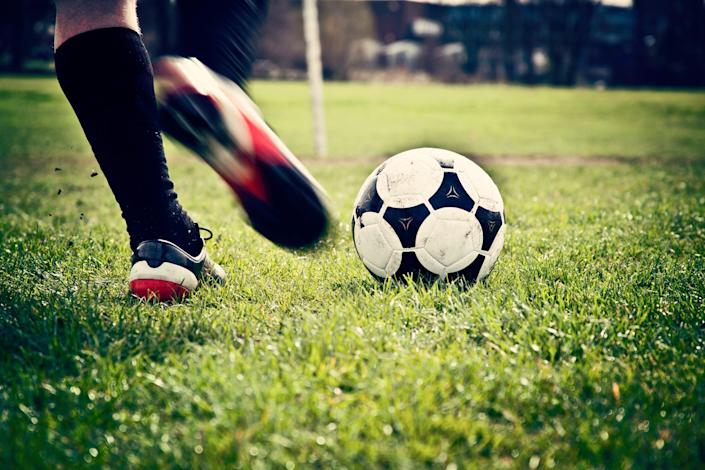 A Michigan high school soccer coach apologized after letting a player score 16 goals by halftime against a winless team