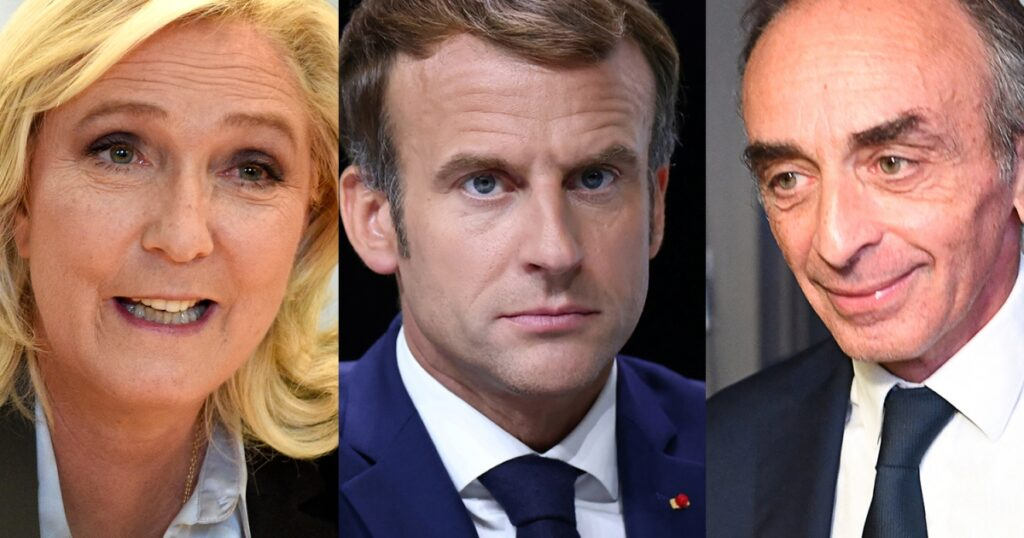 Months until presidential vote, a far-right surge jolts France