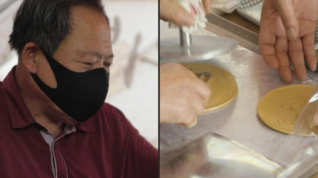 Sweet taste of Squid Game success for South Korean candy couple
